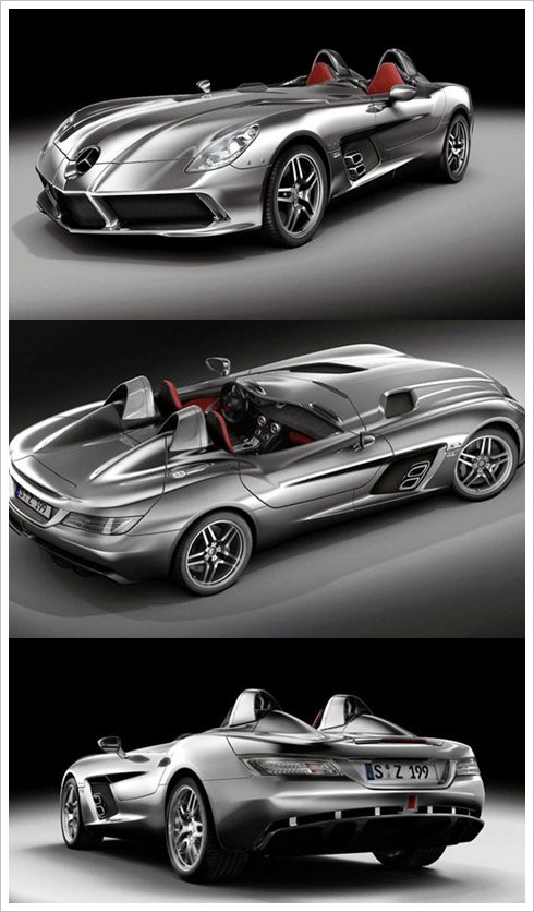 Mercedes McLaren SLR Stirling Moss 2009