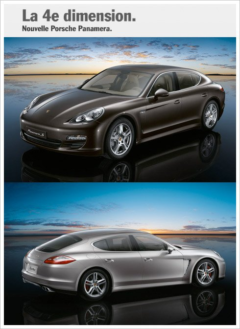 future porsche 4 portes la panamera at favoris du net. Black Bedroom Furniture Sets. Home Design Ideas