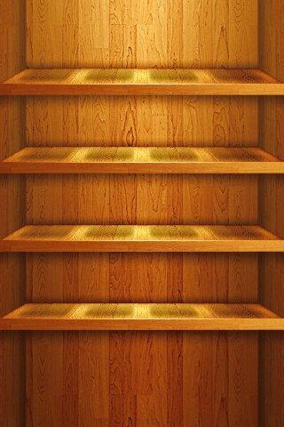 woodenshelfiphonewallpaper4rowsbytwinware.jpg
